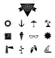 Set of 12 icons vector