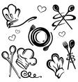 Cook cooking vector