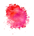 Abstract watercolor splash background with paper t vector