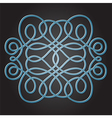 Decorative knot vector