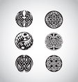 Celtic circular designs vector