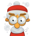 Little santa claus vector