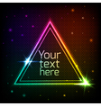 Abstract geometric background with space for text vector