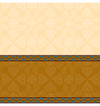 Indian background with border vector