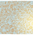 Colorful seamless pattern with light background vector