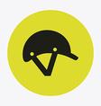 Helmet design vector