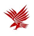 Falcon mascot vector
