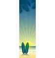 Beach banner 3 vector