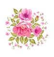 Roses floral bouquet vector