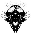 Scary demon vector