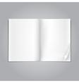 Magazine blank vector
