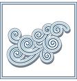 Wavy swirls vector