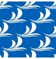 Yacht sailing on a wave seamless pattern vector
