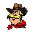 Western cowboy vector