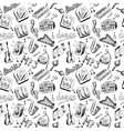 Music seamless vector
