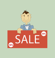 Sale promotion design template vector