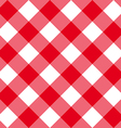 Table diagonal cloth seamless pattern red big size vector