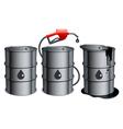 Oil barrels vector