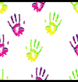 Hands repeatable pattern vector