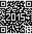 Background with christmas qr-code vector