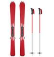 Ski equipment 01 vector