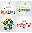 Hand drawn internet concepts and stickers vector