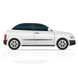 Car hatchback 02 vector