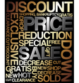 Sale discount poster vector