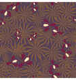 Seamless exotic pattern with orchids flowers vector