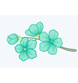 Beautiful blooming branch a symbol of spring vector