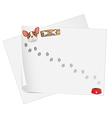 Empty paper templates vector