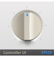 Control knob regulator vector