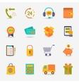 Shopping e-commerce icon vector