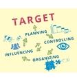 Target achievement vector