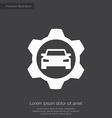 Auto service premium icon vector