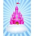 Fairy castle vector