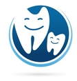 Dental clinic icon - smile teeth vector