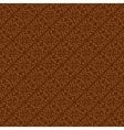 Brown colors art deco style curve pattern design vector