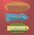Register now label vector