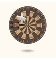 Classic darts board vector