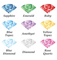 Jewelry set volume vector