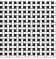 Plane weave geometric seamless pattern vector