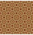 Brown colors sarasa style pattern design vector