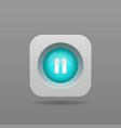 Pause button vector