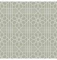 Arabic geometric seamless pattern vector