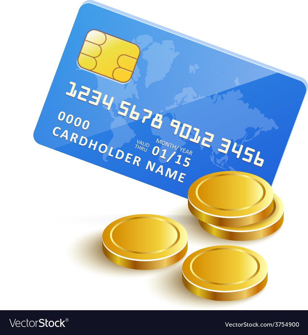Creditcardgoldcoinspaymenticon vector   Price: 1 Credit (USD $1)