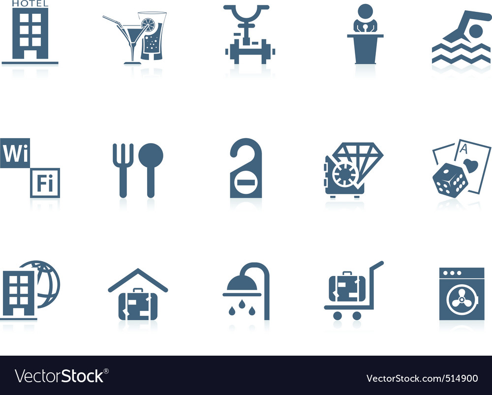 Hotel service icons | piccolo vector | Price: 1 Credit (USD $1)