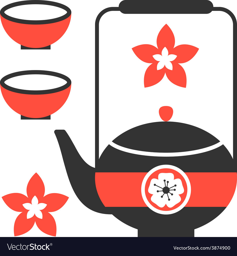 Tea ceremony icon  eps 8 vector | Price: 1 Credit (USD $1)