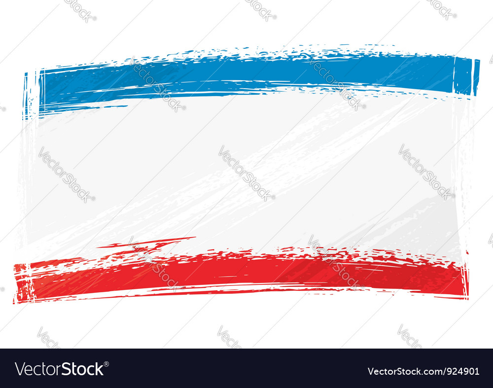 Grunge crimea flag vector | Price: 1 Credit (USD $1)