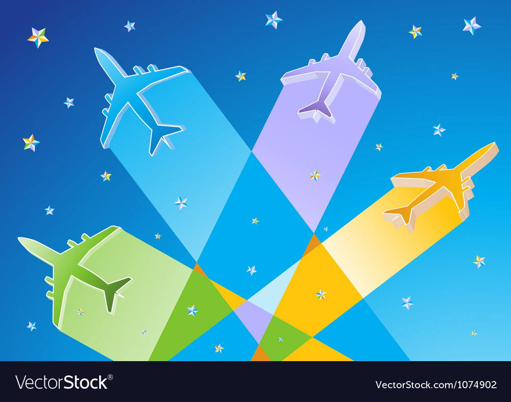 3d airplanes vector | Price: 1 Credit (USD $1)